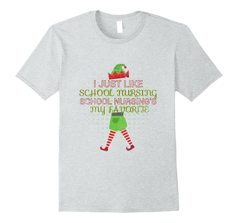 51e2c22a6cb Funny Nurse Christmas Shirt / Christmas Party School Nurse-ANZ