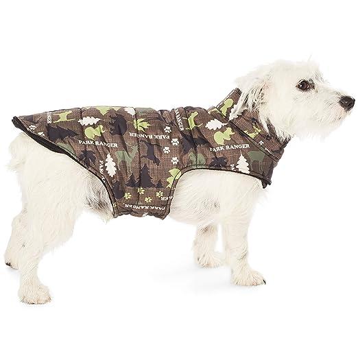 Hotel Doggy Park Ranger Puffer - Chaqueta para Perro (poliéster ...