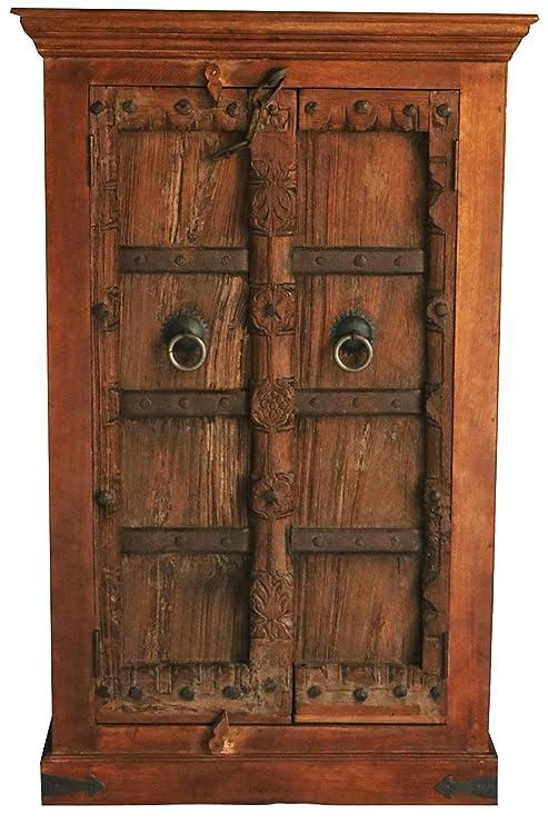 Orientalischer Kleiner Schrank Kleiderschrank Antik 4 129cm Hoch