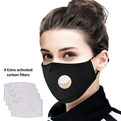 Air For Anti Face Anti-pollutiion Asthma amp; Mask Women Washable Allergy Sinus Dust Kids Tdas Reusable Pollution Dustproof Men