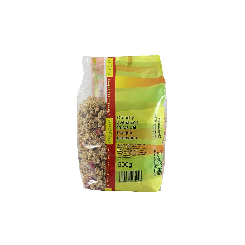 Biospirit Crunchy de Avena con Frutos del Bosque, 500 g: Amazon.es: Hogar