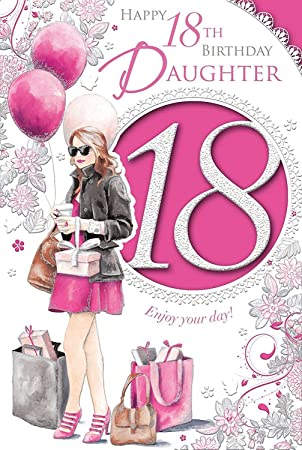 Xpress Yourself Daughter 18 Today Medium Sized Fashion Birthday