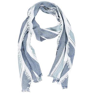 Emporio Armani écharpe homme en coton blu  Amazon.fr  Vêtements et ... 52f3f7c6a3d