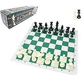チェスジャパン スタンダードチェスセット ナショナル 43cm (グリーン, ヘビー)