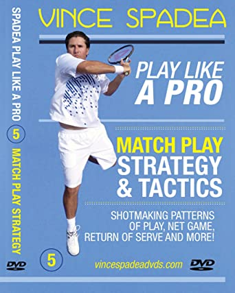 ATP Tennis Tour Pro Vince Spadeas, Play Tennis Like A Pro, Vol. 5