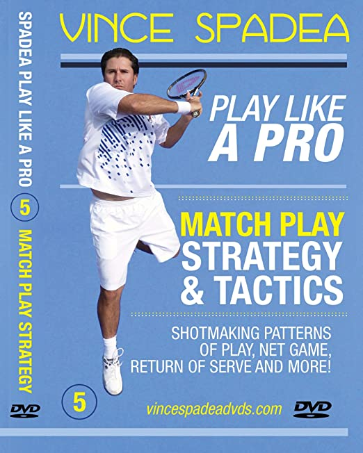 Amazon.com: ATP Tennis Tour Pro Vince Spadeas, Play Tennis Like A Pro, Vol. 5 Pro Match Play Strategy & Tactics! Designed for Beginners, Intermediate and ...