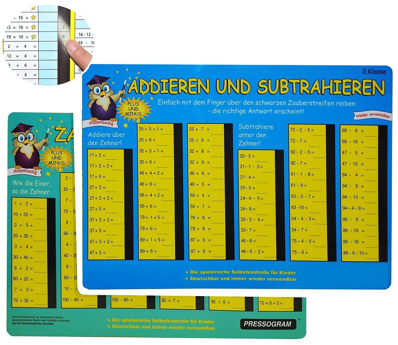 Unbekannt Pressogramm: schreib und wisch weg - Zahlen bis 100 ...
