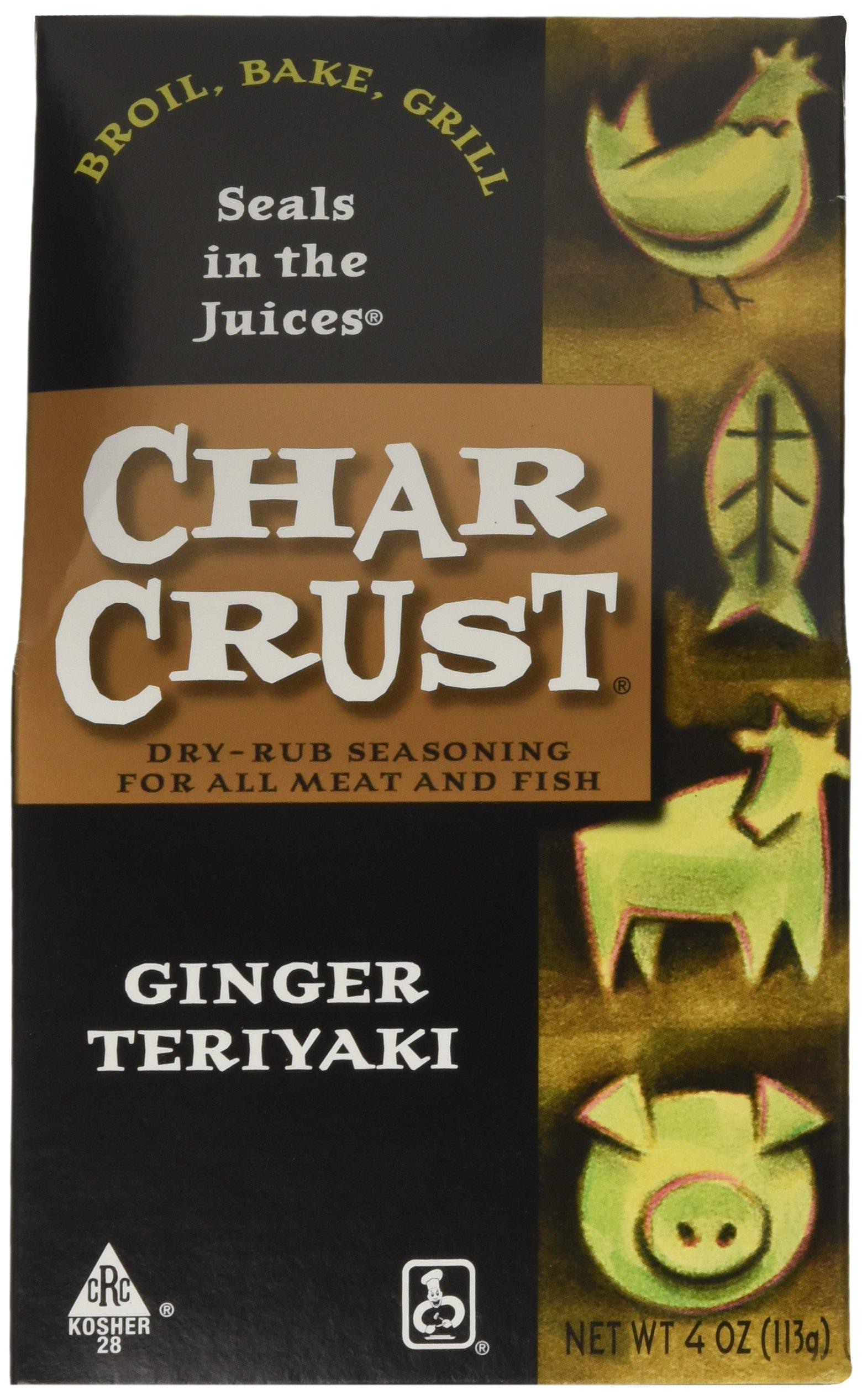 Char Crust Rub Seasoning Ginger Teriyaki, 4 oz