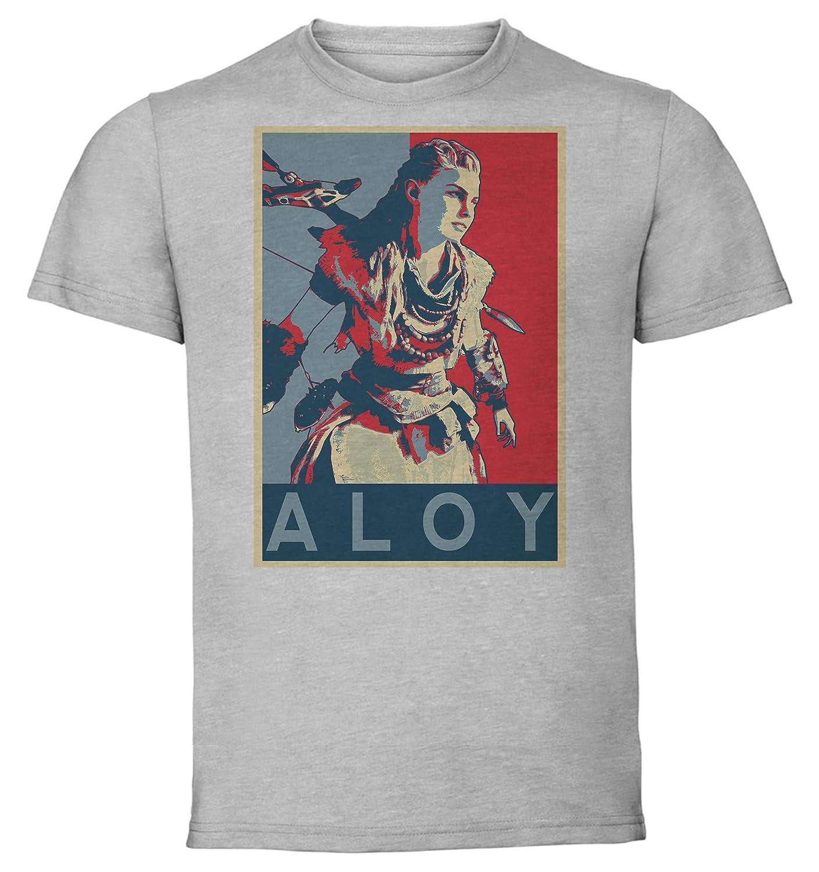 Horizon Zero Dawn Aloy Instabuy T-Shirt Unisex Propaganda Maglietta Grigia