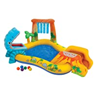 Intex 57444 - Playground Dinosauri, 249 x 191 x 109 cm