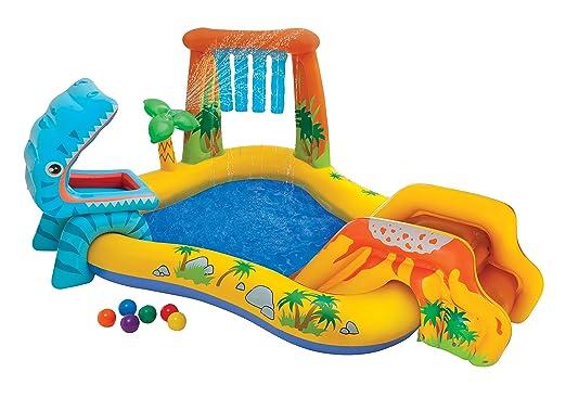INTEX Playground Dinosauri,, 249 x 191 x 109 cm, 57444: Amazon.it: Giochi e giocattoli