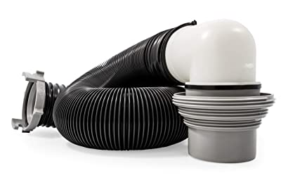 Camco 10ft RV Sewer Hose Kit with Pre-Attached Fittings