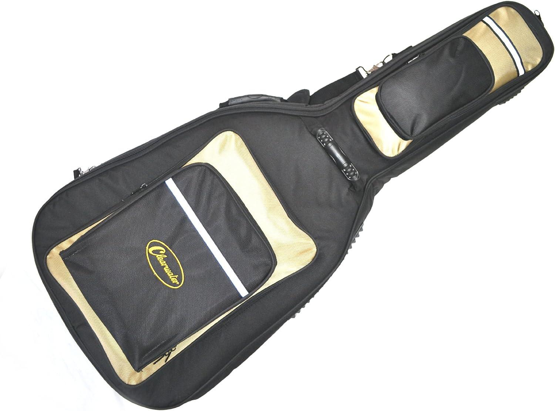 Guitarra acústica funda blanda para occidentales Dreadnought funda de parte superior de la gama funda por CLEARWATER 25mm acolchado