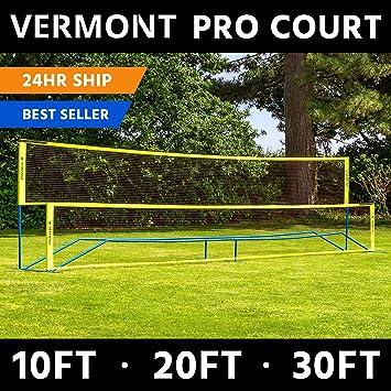Vermont Procourt Mini Tennis & Badminton Combi Net [3 Sizes] | Perfect for  The Backyard