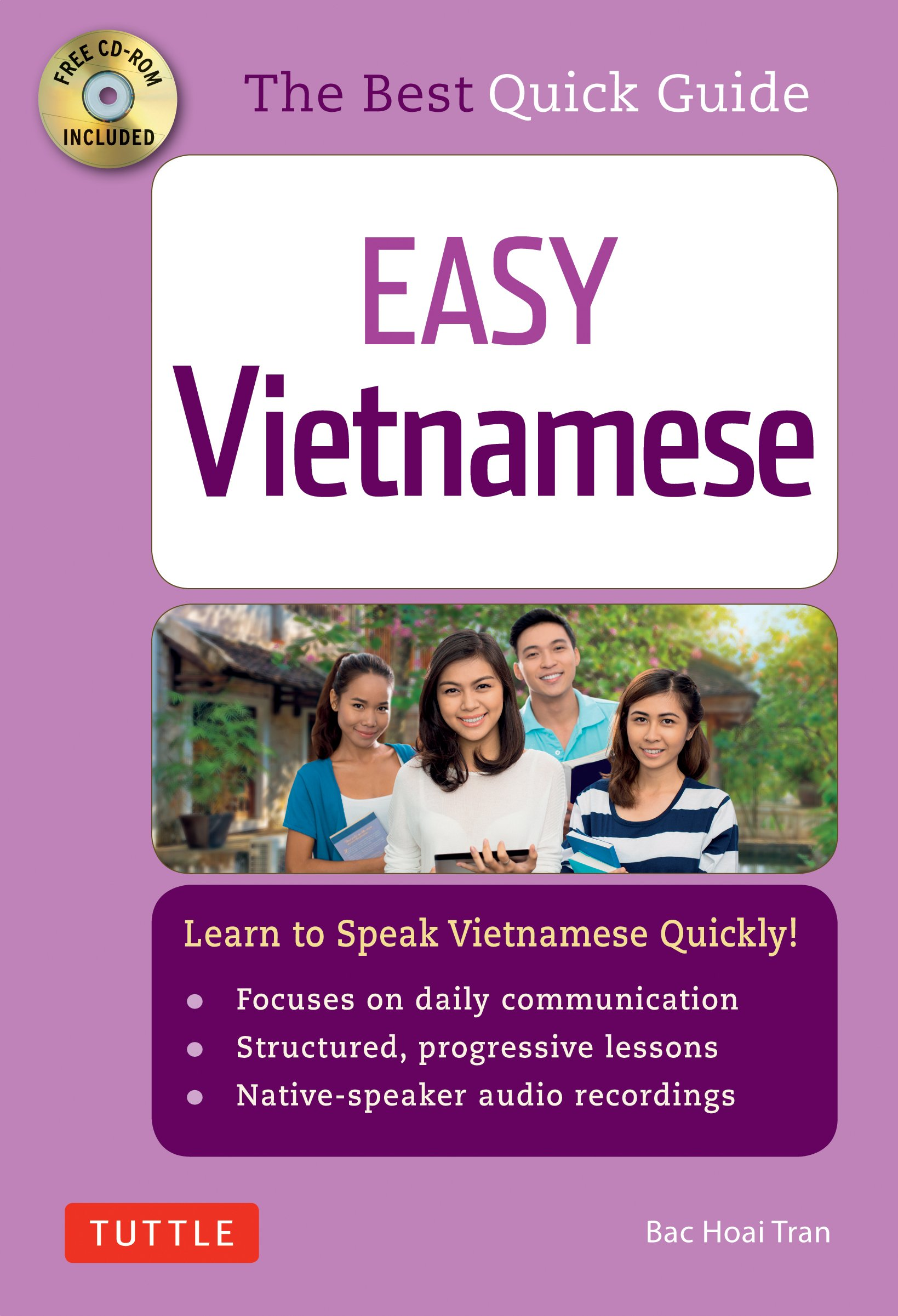 Easy Vietnamese: Learn to Speak Vietnamese Quickly! (CD-Rom included) by imusti
