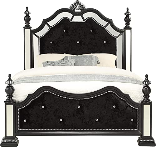 Global Furniture USA Diana Size Panel Bed