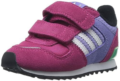 size 40 823e8 38b31 Zapatillas adidas   Zx 700 Cf I Rosa Blanco Morado, pink flieder, EU 26   Amazon.es  Zapatos y complementos