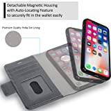 Navor Detachable Magnetic Wallet Case and Universal