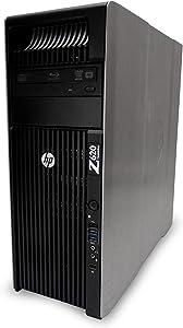 Z620 Workstation, 2x Xeon E5-2680 2.7GHz Eight Core Processors, 32GB DDR3 Memory, 1x 256GB SSD, AMD Radeon HD 7570, Windows 10 Professional 64-bit Installed (Renewed)