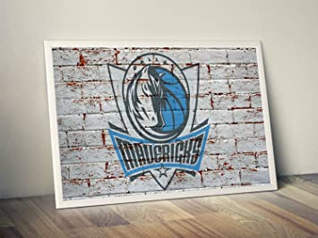 brand new aa2d6 59030 Amazon.com: Dallas Mavericks Limited Poster Artwork ...
