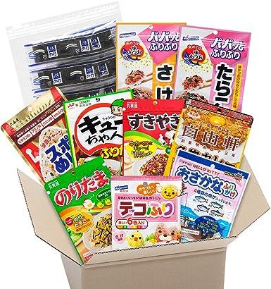 Condimentos de arroz Furikake y hojas de algas marinas Nori sushi Comida tradicional japonesa: Amazon.es: Alimentación y bebidas