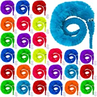 URATOT 12 Pieces Magic Worm Toys Magic Wiggle Twisty Fuzzy Worm for Carnival Party Favors and Birthday Party Favors,6 Colors