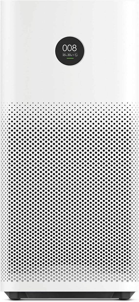 Xiaomi Mi Air Purifier 2s EU version - Purificador de aire, conexión WiFi y pantalla display, para estancias hasta 37m2, 310m3/h, Blanco, 52 x 24 x 24 cm: Amazon.es: Hogar