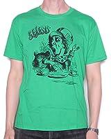 Genesis T Shirt - Green Mad Hatter Charisma Design 100% Official