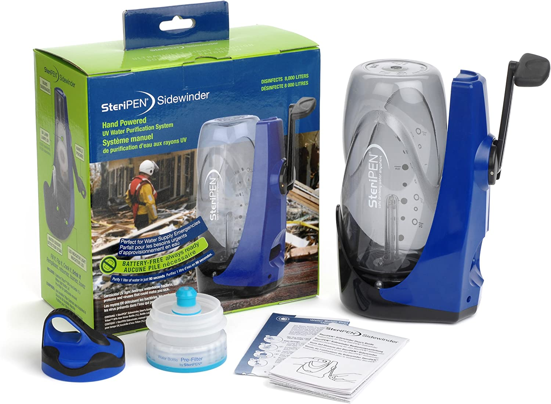 Steripen Sidewinder - Purificador de Agua Manual portátil por luz ...