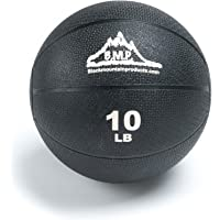 Black Mountain Products Professional Exercise Medicine Ball, Black, 10 Lbs