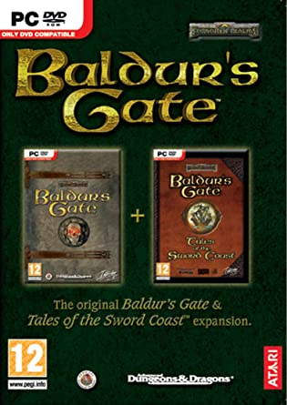 Baldur S Gate And Tales Of The Sword Coast Expansion Double Pack