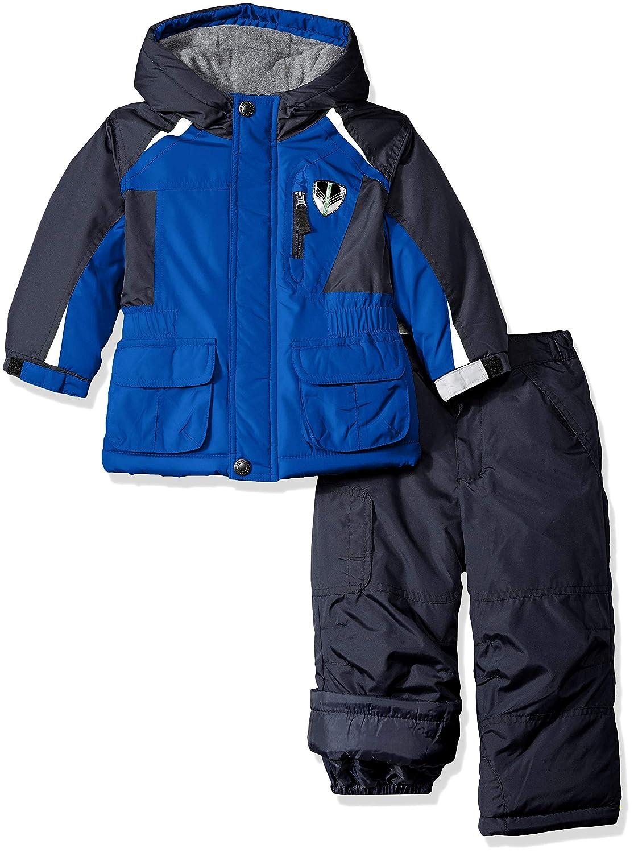 LONDON FOG Boys Ski Jacket /& Ski Pant 2-Piece Snowsuit