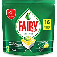 Fairy All In One Dishwasher Tablets, 16 Count