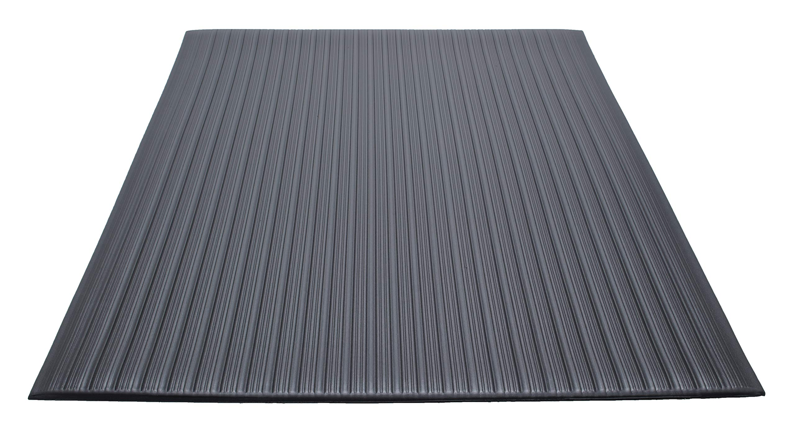 Guardian Air Step  Anti-Fatigue Floor Mat, Vinyl, 2'x3', Black, Reduces fatigue and discomfort, Can be easily cut to fit any space by Guardian