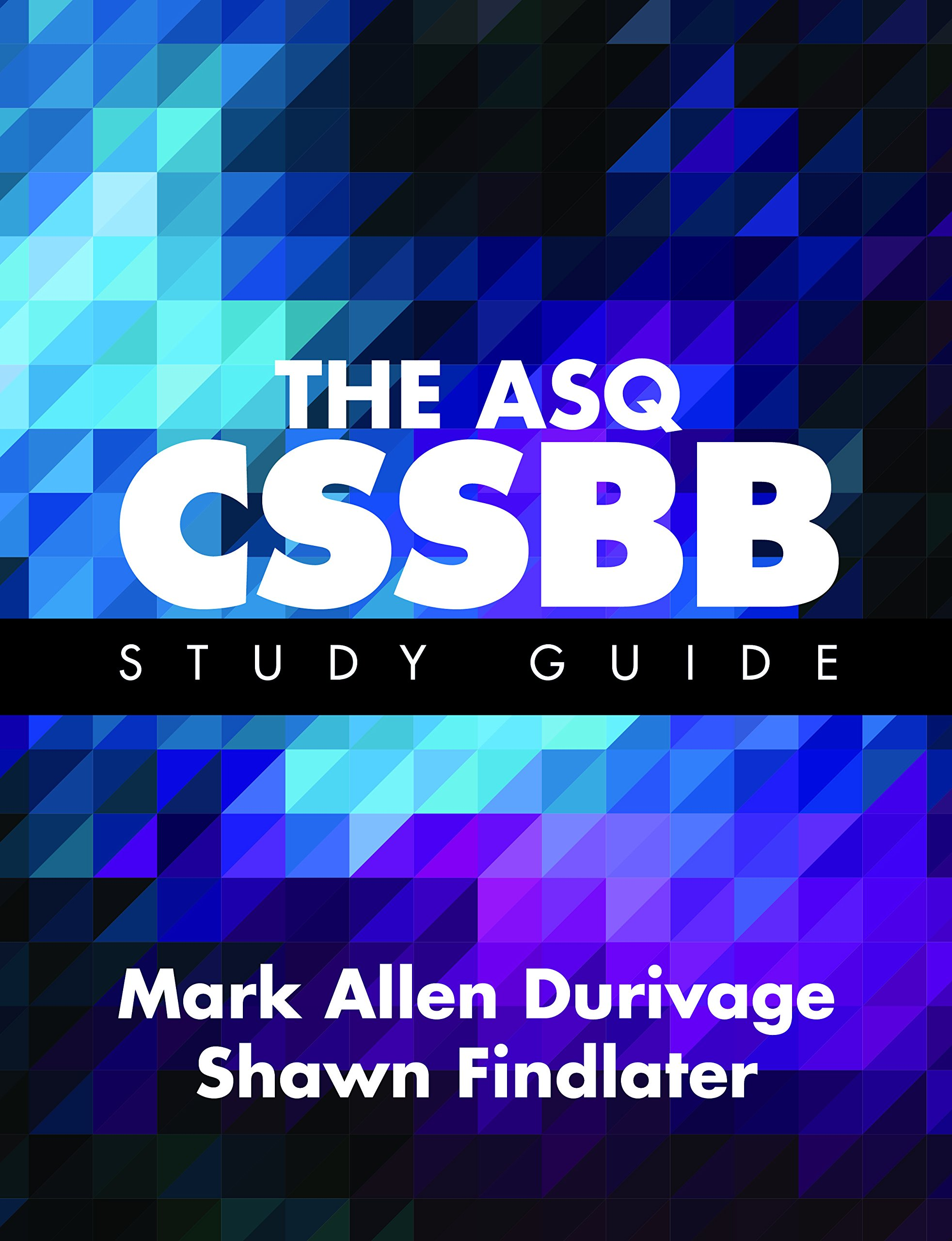 The Asq Cssbb Study Guide Mark Allen Durivage Shawn Findlater