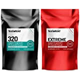 TESTOROID EX & TESTOROID 320 ULTIMATE MALE BOOSTER BODY-BUILDING SUPPLEMENT DUO 100% SAFE 1 MONTH SUPPLY OF BOTH PRODUCTS ** BRITISH SUPPLEMENTS YOU CAN TRUST** INCREASE STRENGTH & GAIN MUSCLE