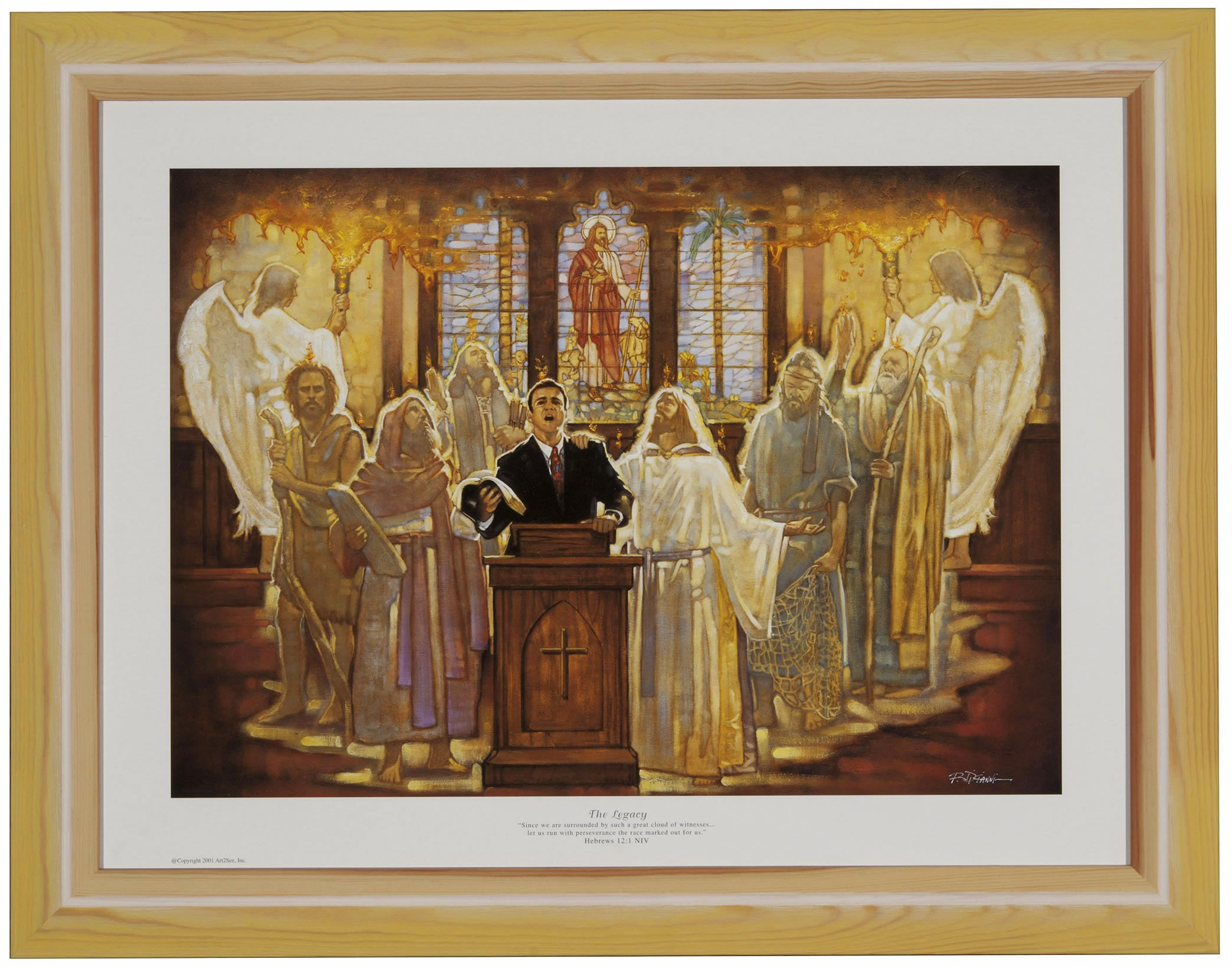 ''The Legacy'' Framed CHRISTIAN ART Prayer Inspirational RON DICIANNI by Ron DiCianni