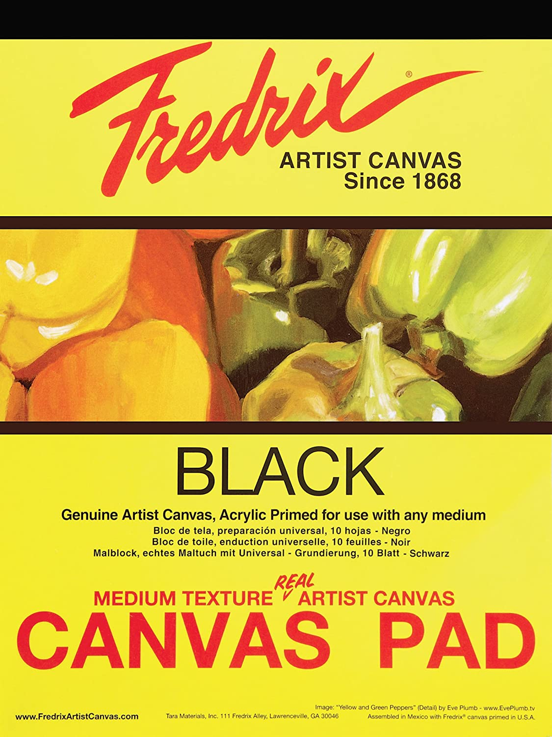 Fredrix Canvas Pad 16x20/""