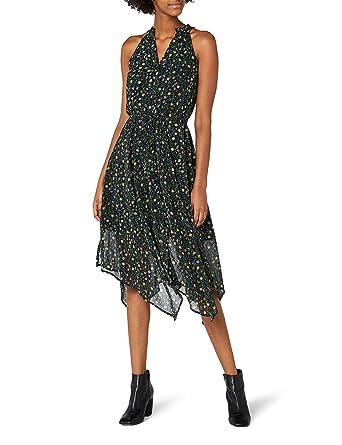 3c45104ef9 edc by Esprit 047cc1e013 Vestito Donna, Multicolore (Black) 34 ...