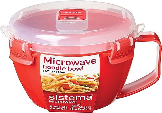 Amazon.com: Sistema Taza de sopa para microondas, Tazón de ...