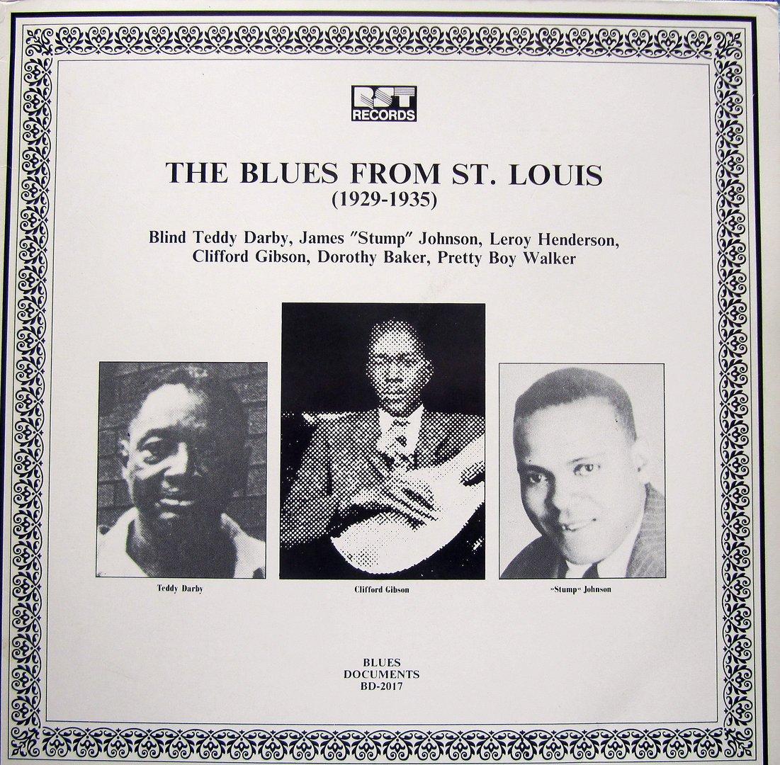 Blues From St Louis (1929-1935) Various Vinyl