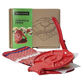 Verve CULTURE VCTORTS Red Tortilla Maker