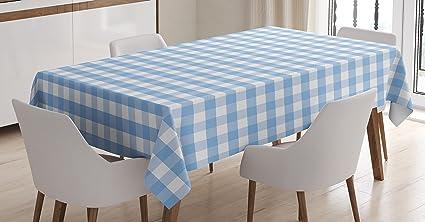 Tovaglia a scacchi by ambesonne little squares and stripes colori