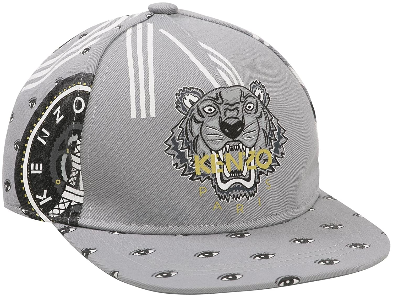 Amazon.com  Kenzo Kids Boys  Kenzo Kh Kb Tiger Cap Grey  Clothing ef3b2e259e3