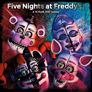 amazon com 2018 five nights at freddy s sister location wall