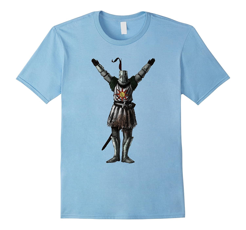 Praise T shirt The Sun Dark knight souls v12-CL
