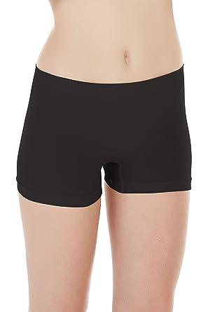 0140e403f4d4 Seamless Bamboo Short Thigh Underwear Boxer Boyleg Briefs/Panty (US X-Small  -