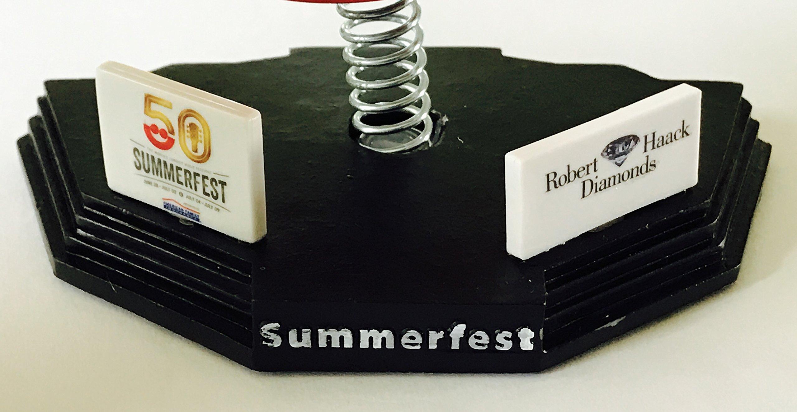 Summerfest 50 bobble head smile 50th music festival milwaukee