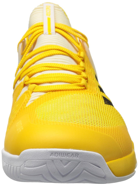 newest 845c3 bf446 Zapatillas de tenis Adizero Ubersonic 2 para hombre adidas Originals Equipo  Amarillo   Negro   Blanco