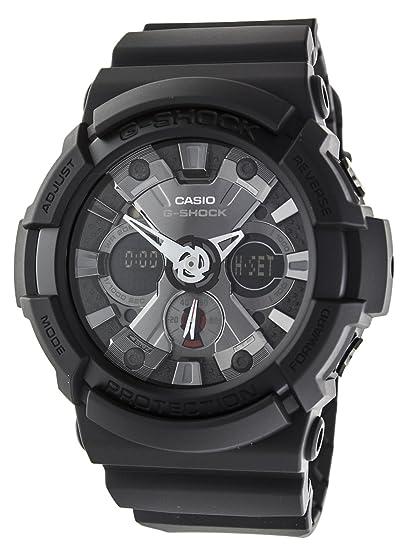 44bb673ac881 Reloj Casio para Hombre GA-201-1AER  G-Shock  Amazon.es  Relojes